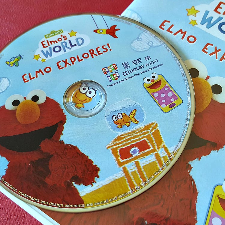 dvd elmo explores