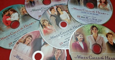dvd set when calls the heart