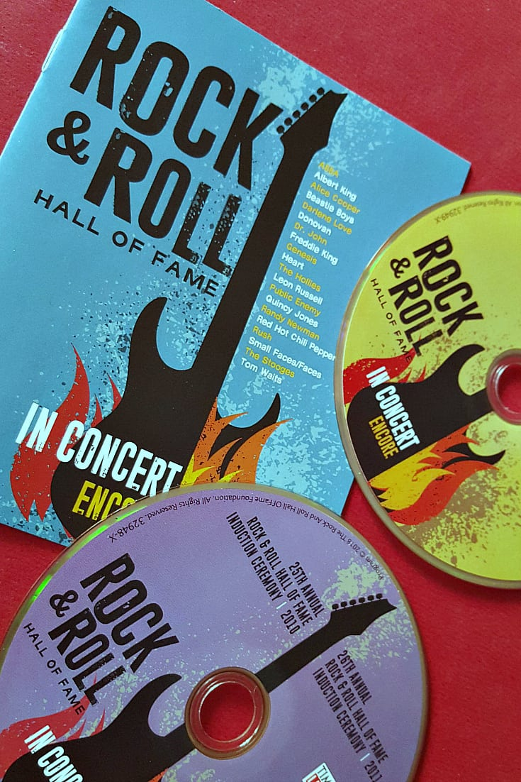 Rock and Roll Hall of Fame in Concert Blu-ray from Time Life