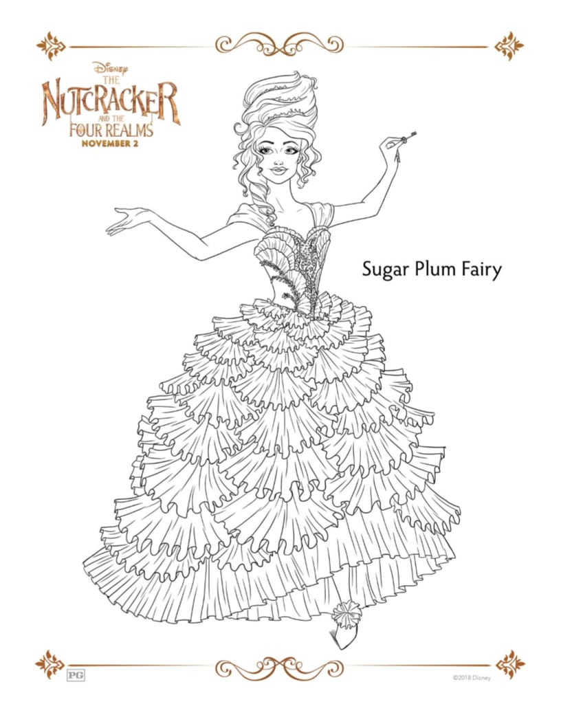 nutcracker sugar plum fairy