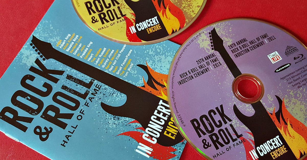 rock and roll concert dvd