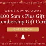 Sams Gift Card Giveaway – Ends 12/31/18