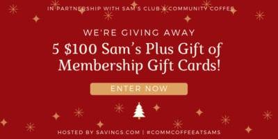 sams gift card giveaway