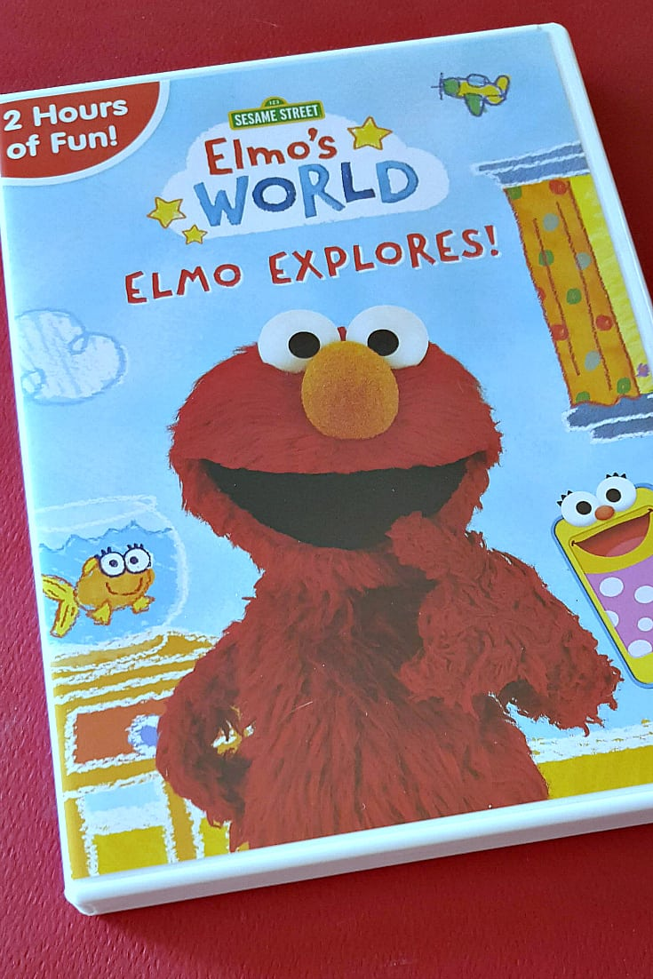 Sesame Street Elmo's World Elmo Explores DVD