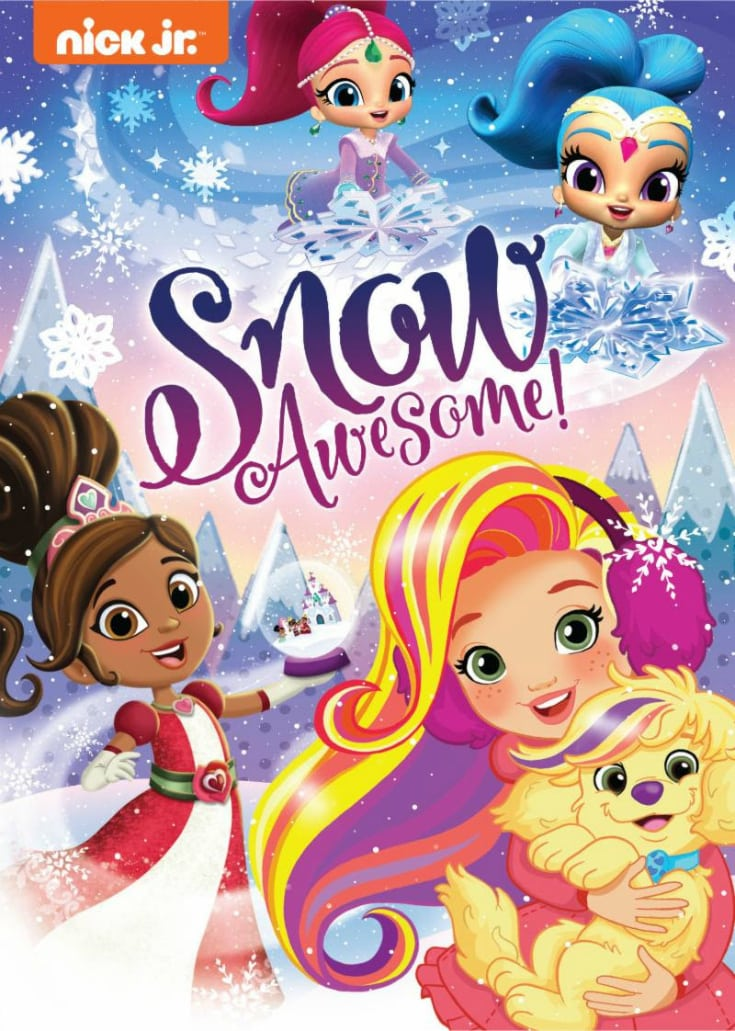 snow awesome nick jr dvd