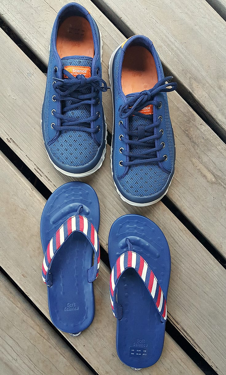 SoftScience Shoes for Boating and Fishing - Boat Shoes and Flip Flops
