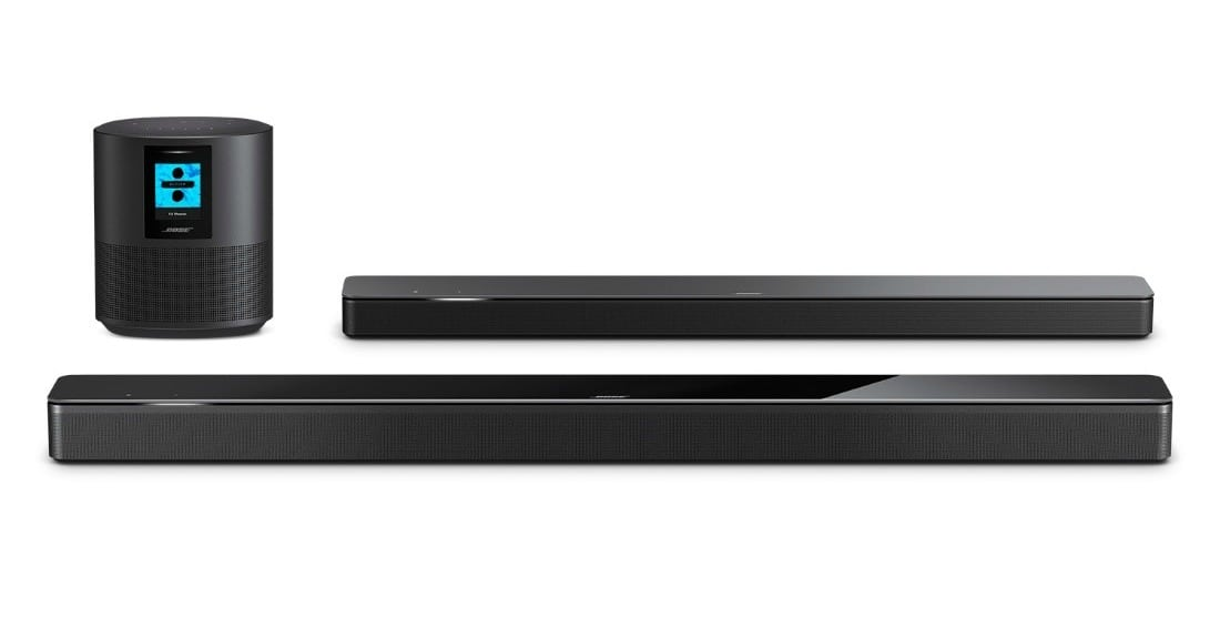 Bose Home Soundbar and Bass Module