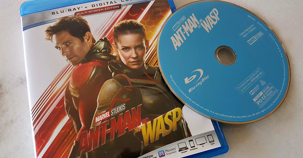 bluray ant man and the wasp