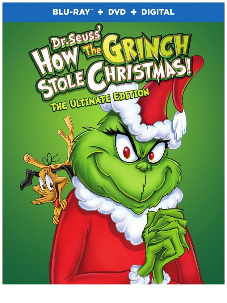 Dr Seuss Grinch Ultimate Edition Blu-ray Combo Pack