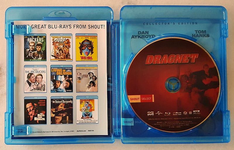 bluray dragnet shout select