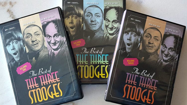 Time Life Three Stooges DVD Set Giveaway