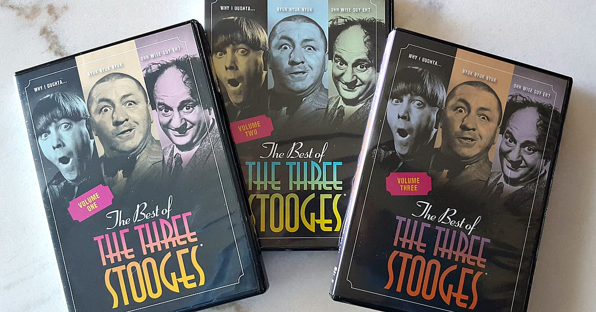 dvd set time life three stooges feature
