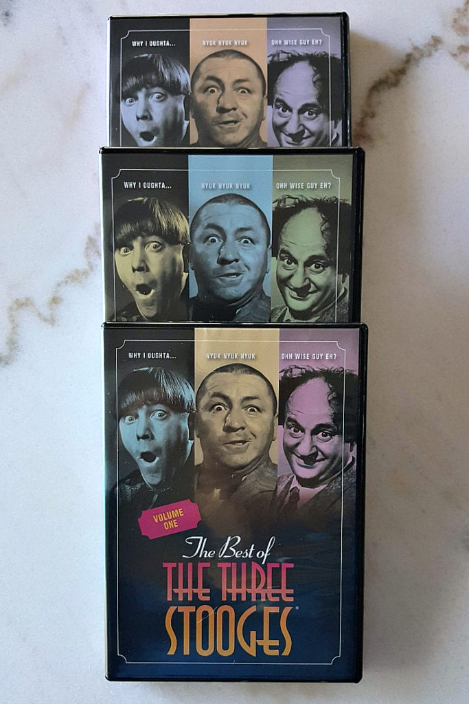 dvd set time life three stooges pin