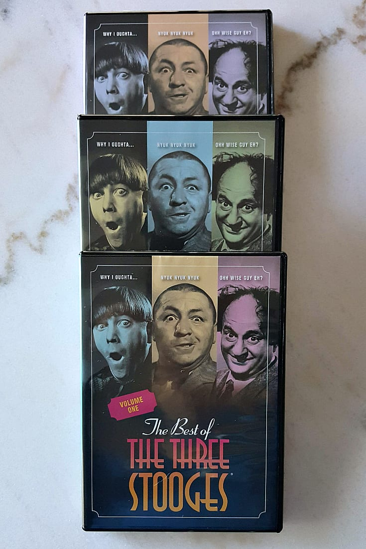 Time Life Best of The Three Stooges DVD Set - Larry, Moe and Curly