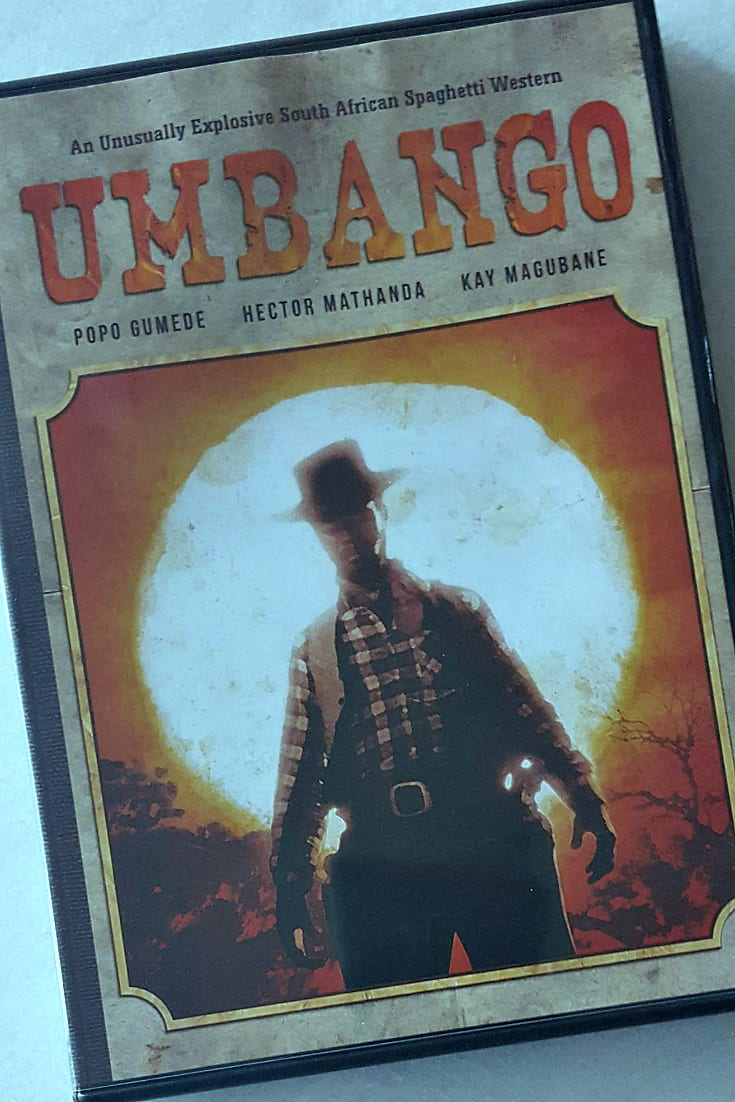 Umbango DVD - Apartheid era film from South Africa - IndiePix Retro Afrika - South African Spaghetti Western