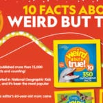 Weird But True Facts – Free Printable