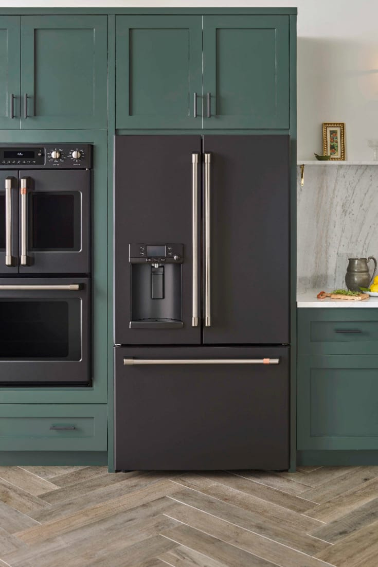 GE Cafe Matte Collection at Best Buy - On trend kitchen appliances #distinctbydesign @cafeappliances @BestBuy #ad