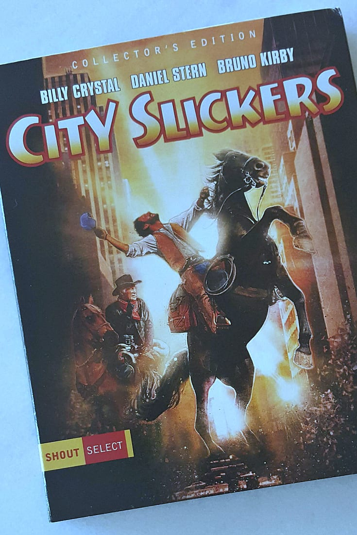 City Slickers Collector's Edition Blu-ray - Billy Crystal and Jack Palance