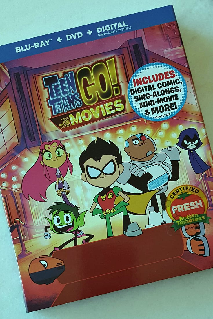 pin dc teen titans go to the movies