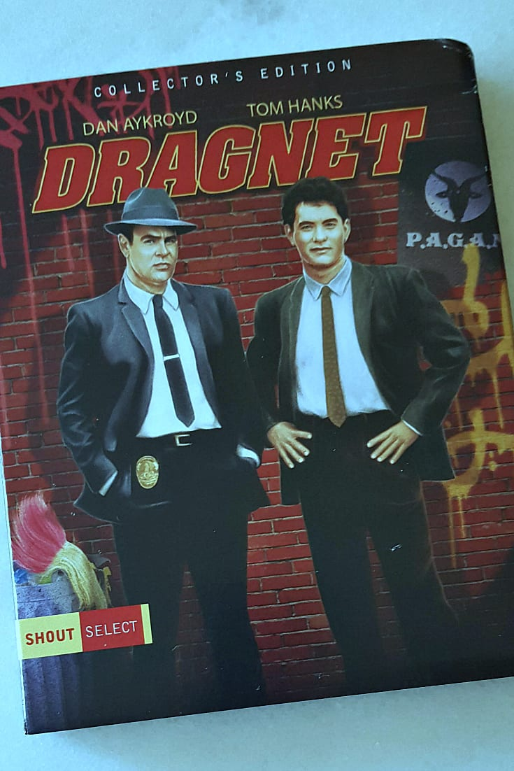 Dragnet Movie Collector's Edition Blu-ray - Dan Aykroyd and Tom Hanks