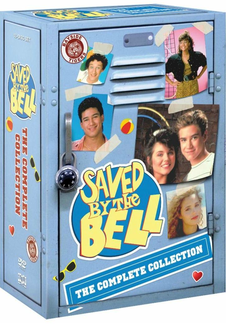 Saved By The Bell Complete Collection DVD Box Set - Tiffani Theissen Mario Lopez Mark Paul Gosselaar Lark Voorhies Dustin Diamon Elizabeth Berkley