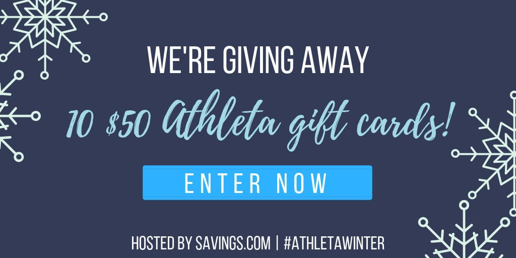 winter athleta gift card giveaway