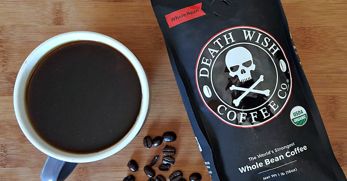 1 coffee death wish