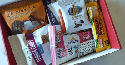 1 love with food snack subscription box