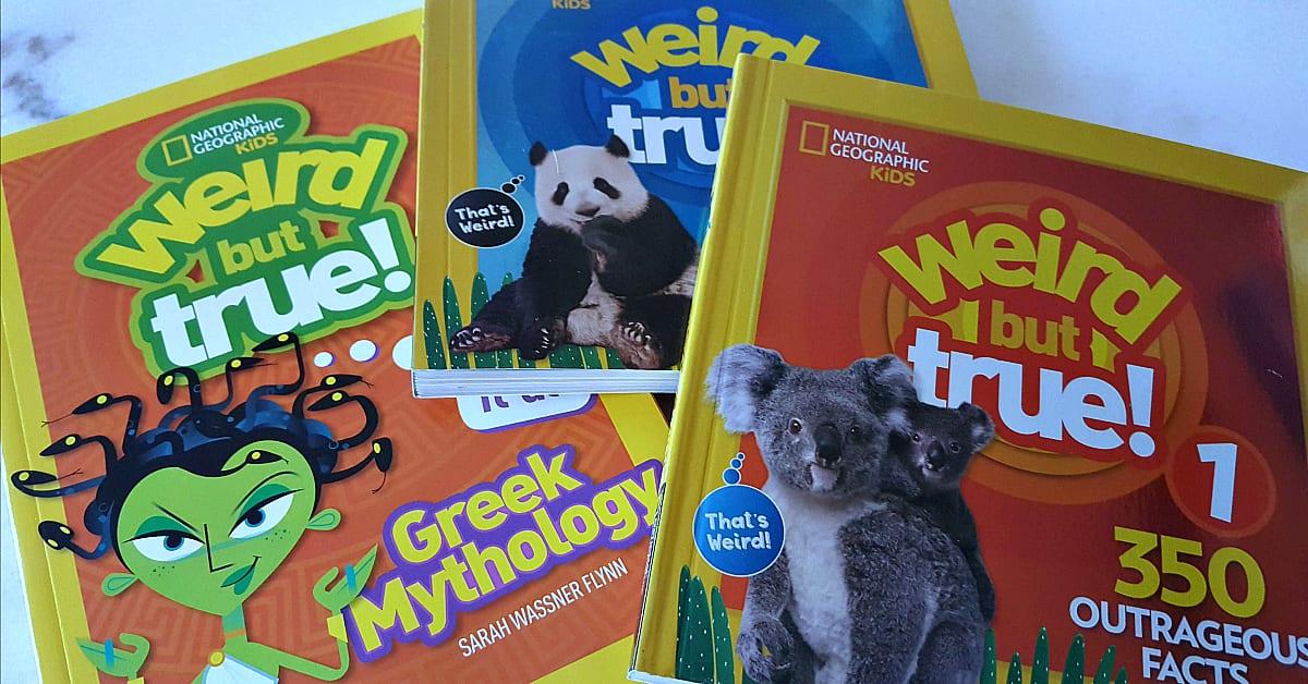 Nat Geo Kids Books - Weird But True | Mama Likes This