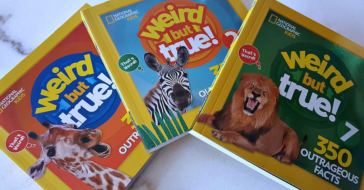 4 nat geo kids books