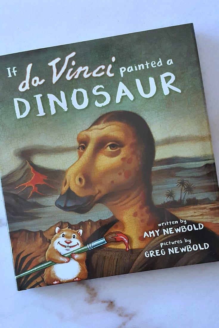 book da vinci dinosaur 2