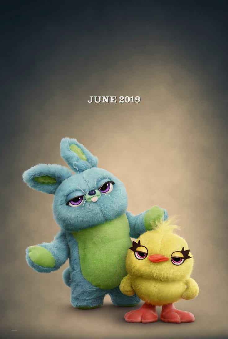 Key and Peele as Ducky and Bunny in Disney Toy Story 4