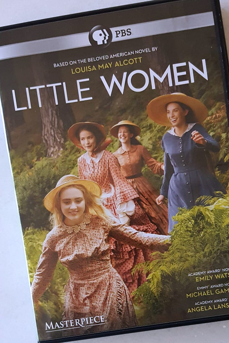 dvd little women pbs
