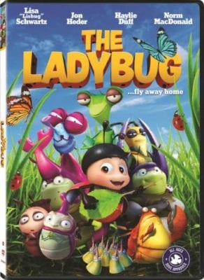 dvd the ladybug movie pin