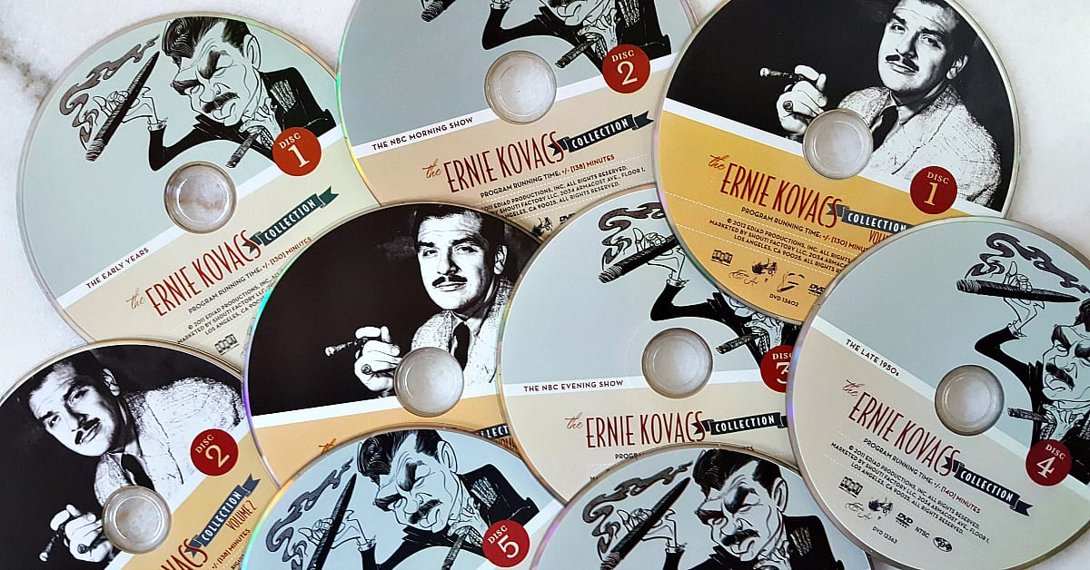 feature ernie kovacs dvd collection