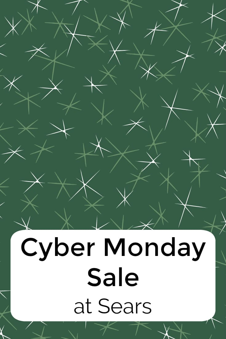 pin cyber monday sears