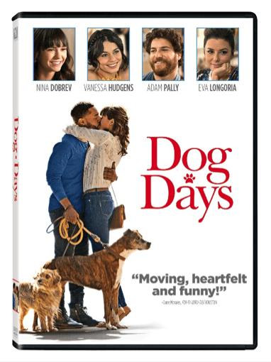 Dog Days Movie DVD - Nina Dobrev, Vanessa Hudgens, Adam Pally, Eva Longoria