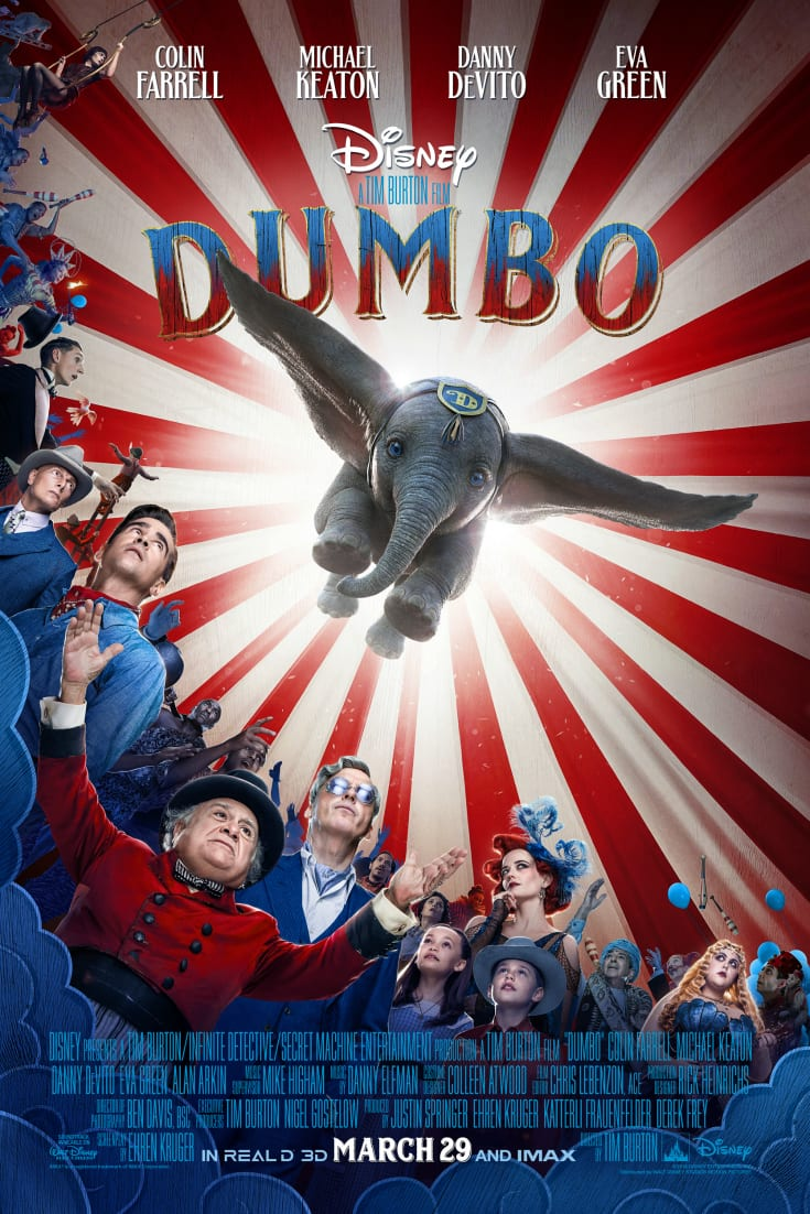pin dumbo live action poster