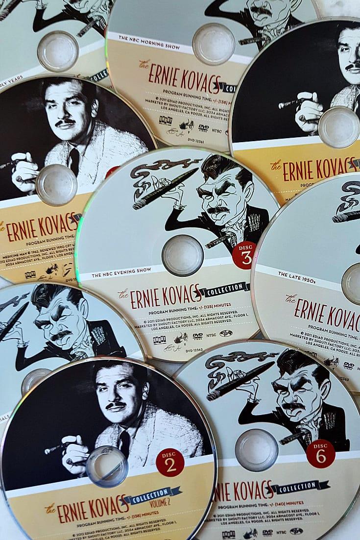 pin ernie kovacs dvd set
