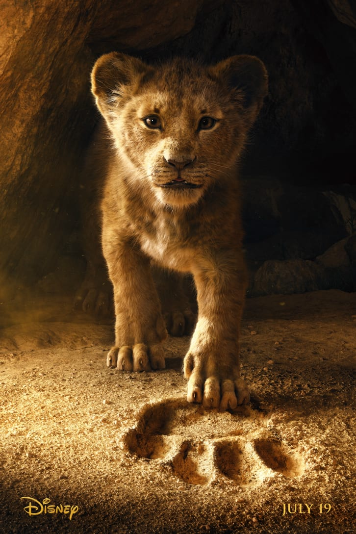 Live Action Lion King Poster from Disney