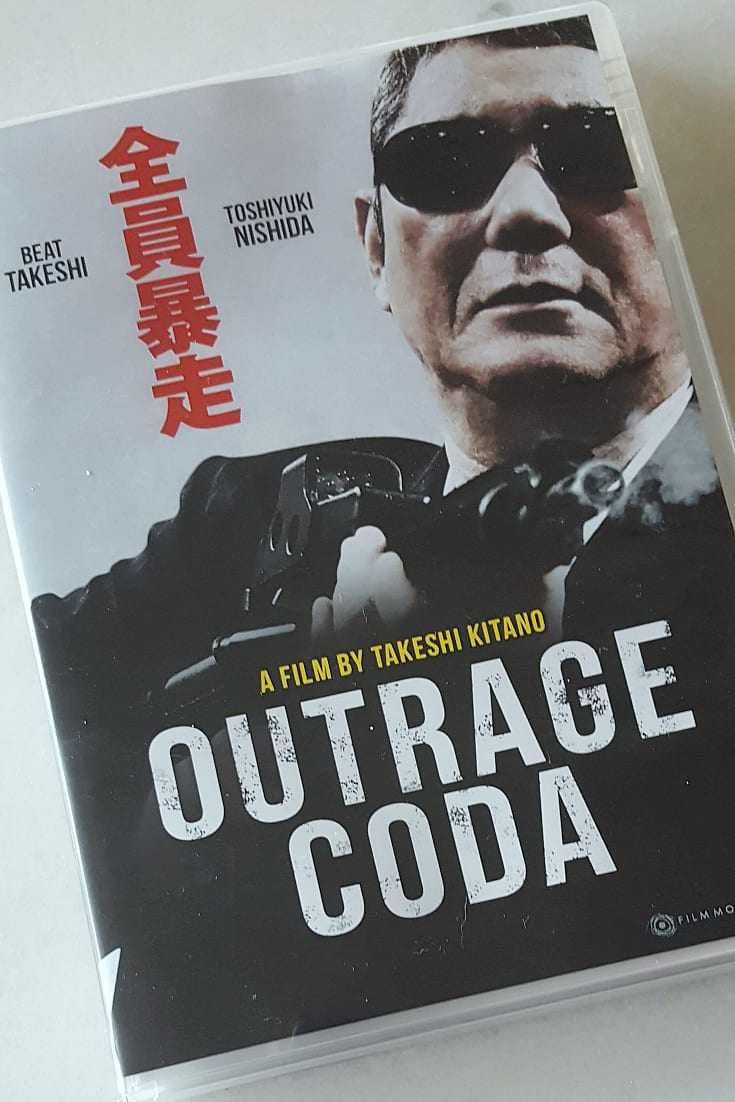Outrage Coda DVD - Takeshi Kitano - Japanese with English Subtitles
