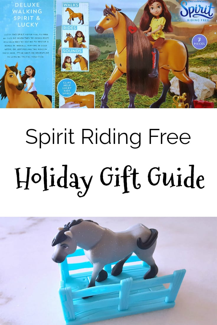 DreamWorks Spirit Riding Free Holiday Gift Guide