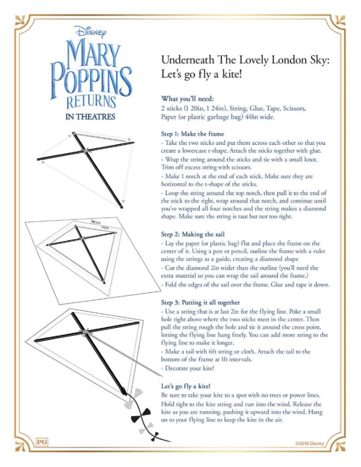 1 mary poppins kite craft