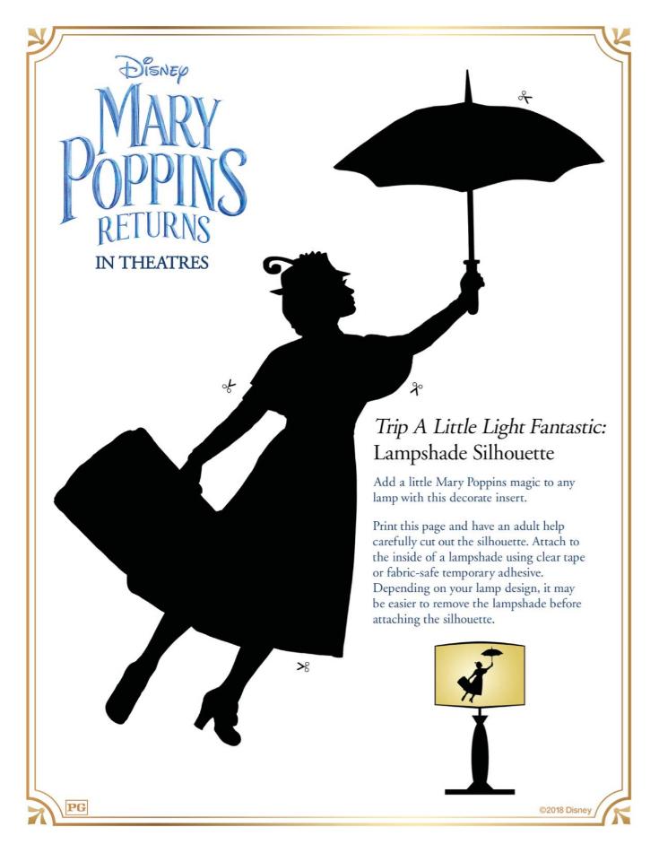 1 mary poppins lampshade diy