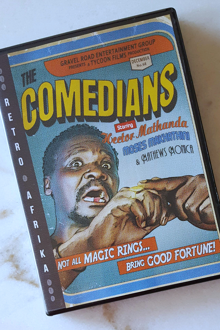 Retro Afrika The Comedians DVD - Remastered Apartheid Era Film from South Africa