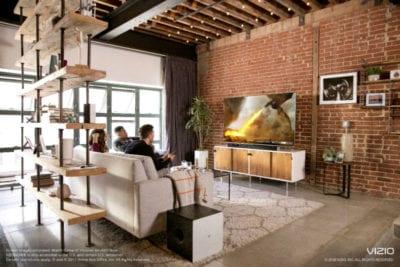 3 vizio smart tv