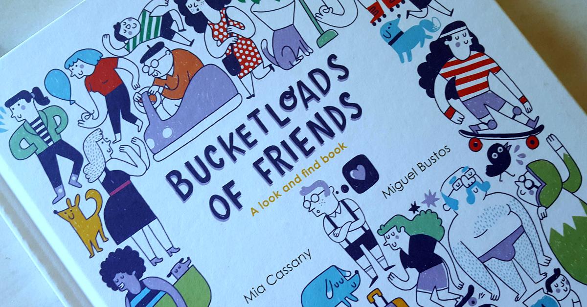 book bucketloads of friends