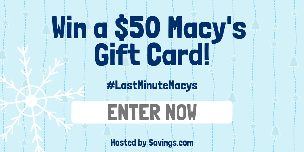 easy entry macys giveaway