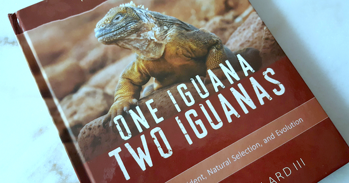 feature book iguana