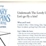 Mary Poppins Kite Craft DIY Instructions